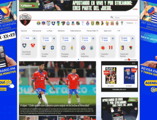 prensafutbol.cl screenshot