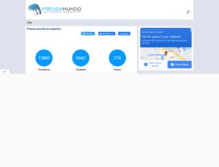 prensamundo.com screenshot