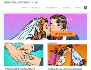 prenuptialagreements.org screenshot