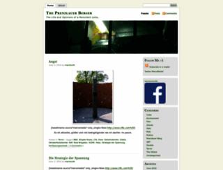 prenzlauerberger.wordpress.com screenshot