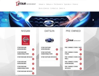 preowned.starmotor.co.za screenshot
