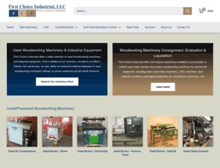 preownedwoodworkingmachinery.com screenshot