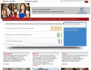 prep.atilim.edu.tr screenshot