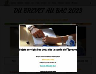 prepabac.e-monsite.com screenshot