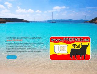 prepaid.es screenshot