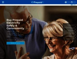 prepaid24.co.za screenshot