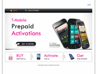 prepaidactivations.com screenshot