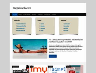 prepaidanbieter.net screenshot