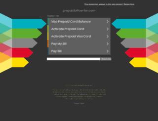 prepaidbillcenter.com screenshot