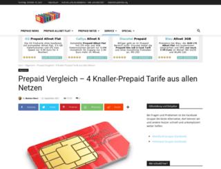 prepaider.com screenshot