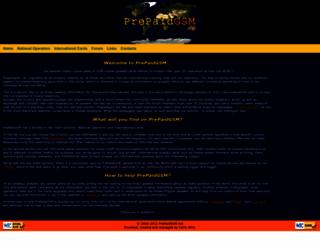 prepaidgsm.net screenshot