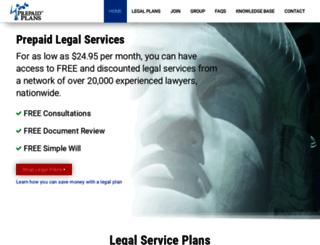 prepaidplans.com screenshot