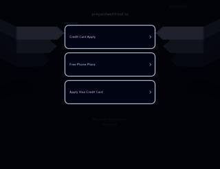 prepaidwebhost.nl screenshot
