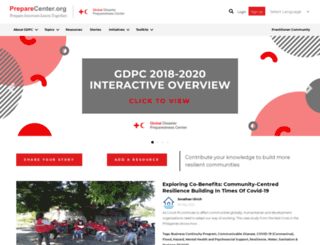 preparecenter.org screenshot