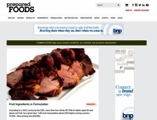 preparedfoods.com screenshot