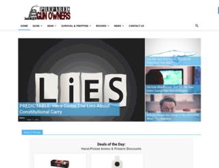preparedgunowners.com screenshot