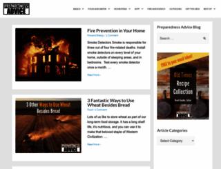 preparednessadvice.com screenshot
