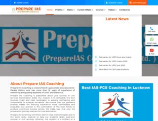 prepareiascoaching.com screenshot