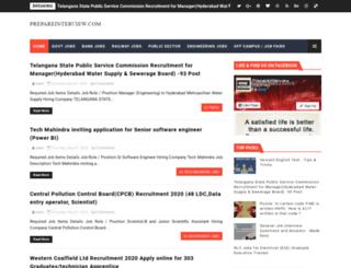 prepareinterview.com screenshot