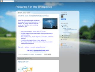 preparingfortheunexpected.blogspot.com screenshot