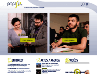 prepas.org screenshot