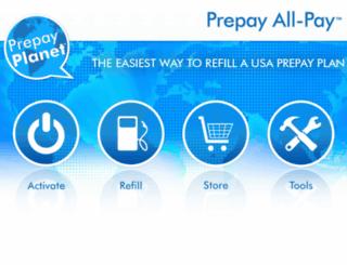 prepayplanet.com screenshot