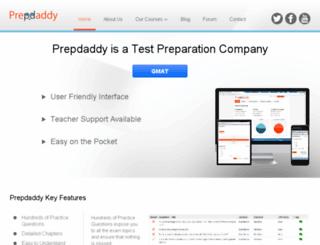 prepdaddy.com screenshot
