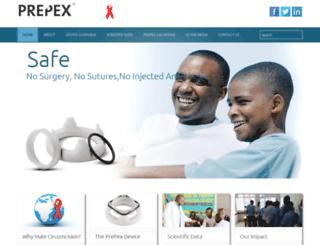 prepex.com screenshot
