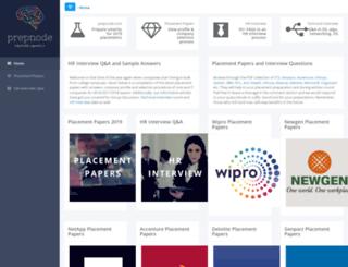 prepnode.com screenshot