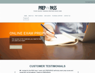prepnpass.com screenshot