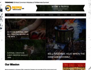 prepper.org screenshot