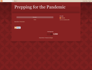 preppingforpandemic.blogspot.com screenshot