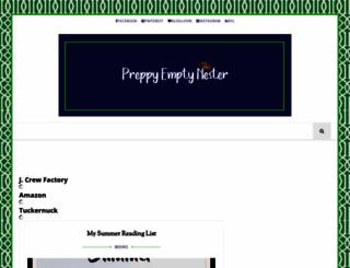 preppyemptynester.blogspot.com.es screenshot