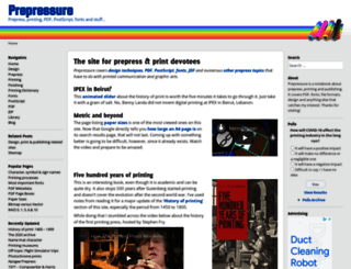 prepressure.com screenshot