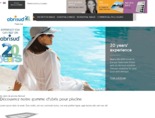 preprod.abrisud.com screenshot