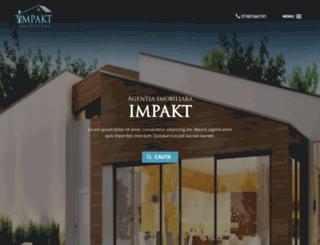 preprod.impakt-imobiliare.ro screenshot
