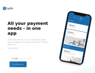 preprod.lydia-app.com screenshot