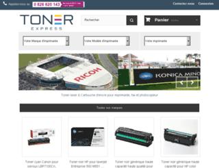 preprod.toner-express.com screenshot