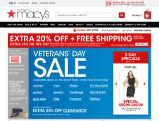 preprod6macys.fds.com screenshot