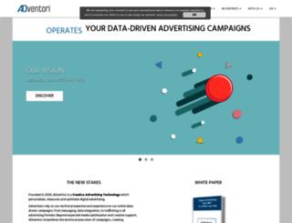 preprodbo.adventori.com screenshot