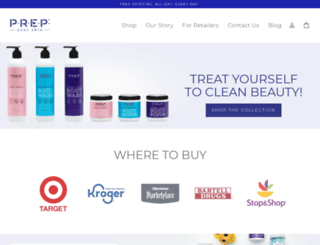 prepyourskin.com screenshot