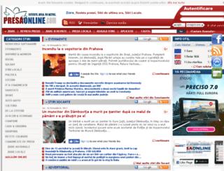 presaonline.com screenshot