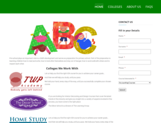 preschool.co.za screenshot