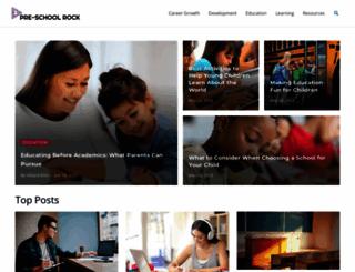 preschoolrock.com screenshot