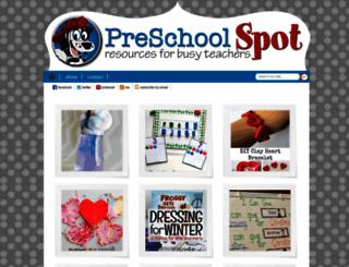 preschoolspot.com screenshot