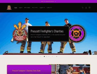 prescottffcharities.org screenshot