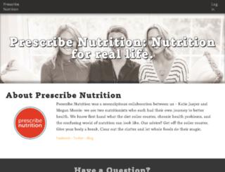 prescribenutrition.coursebeyond.com screenshot