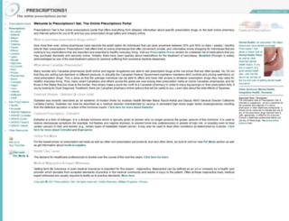 prescriptions1.net screenshot