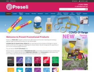 preseli-wholesale.biz screenshot