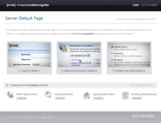 presencechurch.goradiantweb.com screenshot